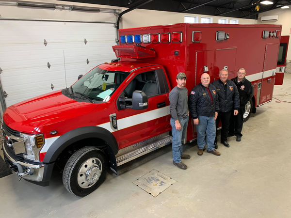new Demers ambulance for the Braidwood FPD