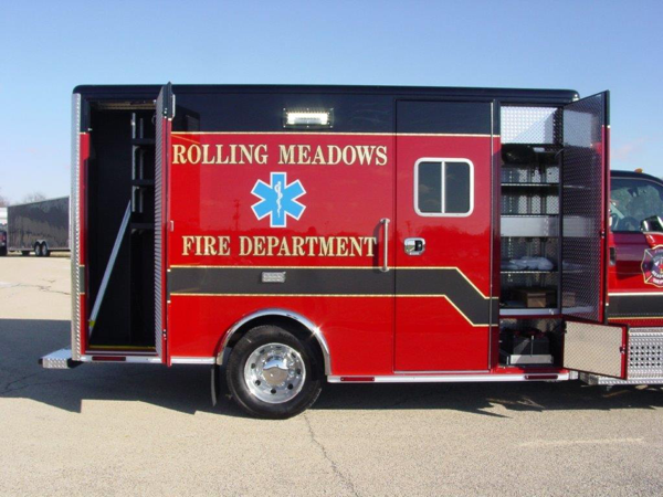 New ambulance for the Rolling Meadows FD