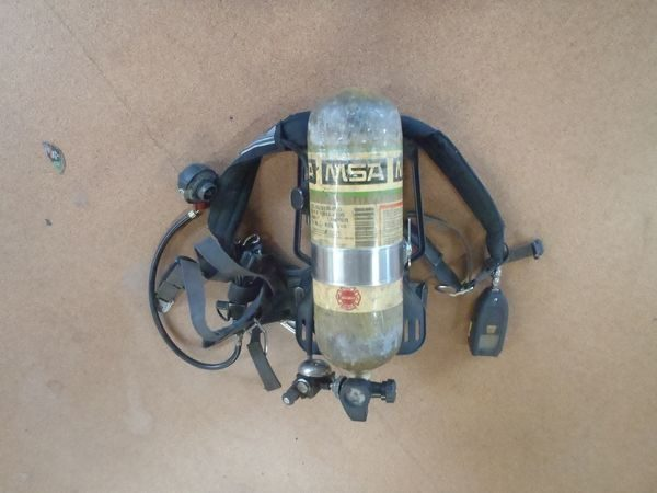 MSA SCBA available at auction