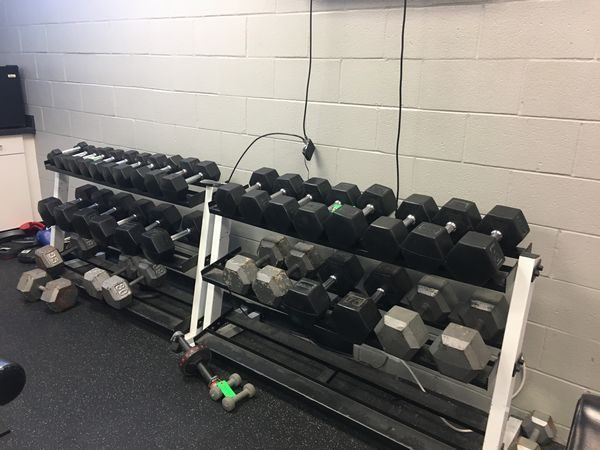 workout weight set available at auction