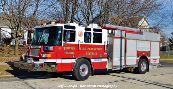 Newport Township FPD Engine 1415