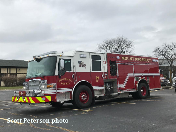 Mount Prospect FD Engine 13