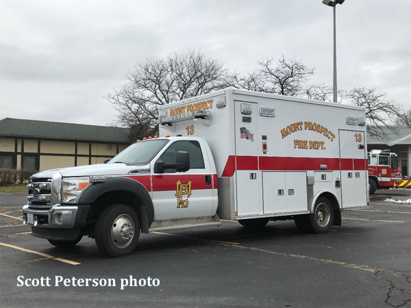 Mount Prospect FD Ambulance 13