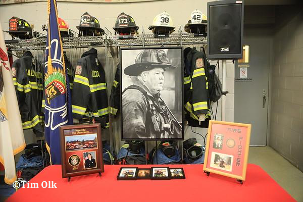 retirement gifts for Wauconda FD DC Ed Dagdick