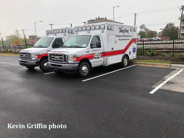 Tinley Park ems new ambulances, 2-2018 e-350 AEV traumahawks