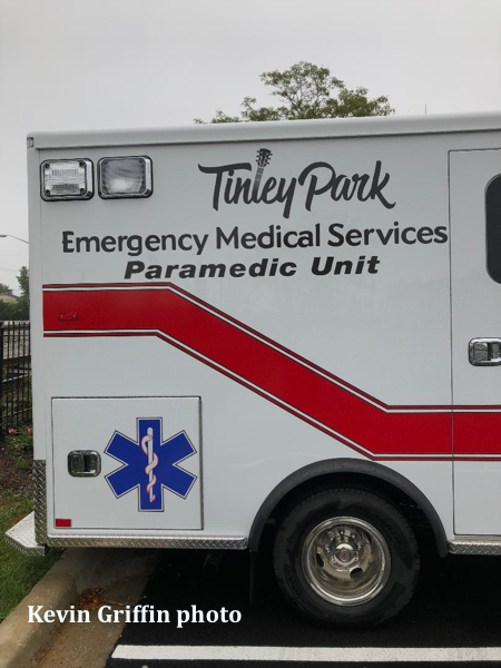 Tinley Park EMS ambulance