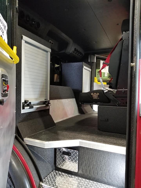 fire truck being built for Evergreen Park