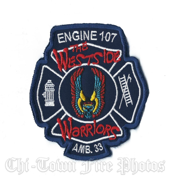 CFD Engine 107 Ambulance 33 company patch
