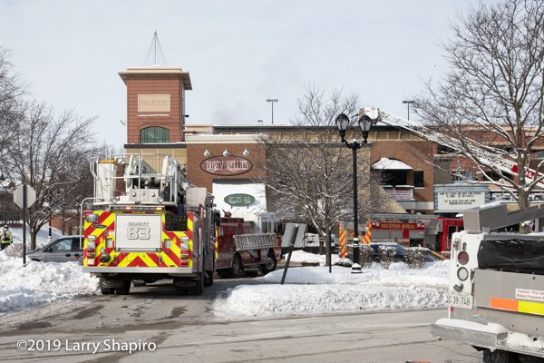 kitchen fire at Durty Nellies at 180 Smith Street in Palatine