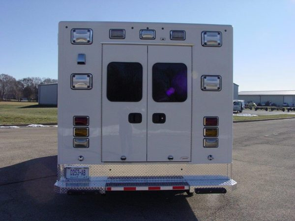 new ambulance for the Maywood FD
