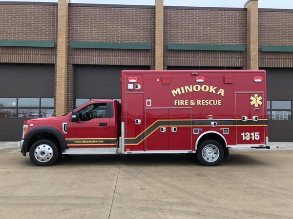 Minooka FPD Ambulance 1315