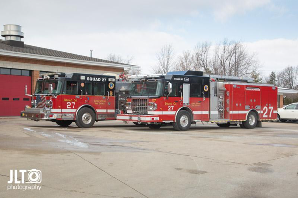 Carol Stream FD Squad 27 new and old