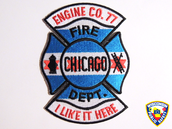 Chicago FD Engine 77 company patch