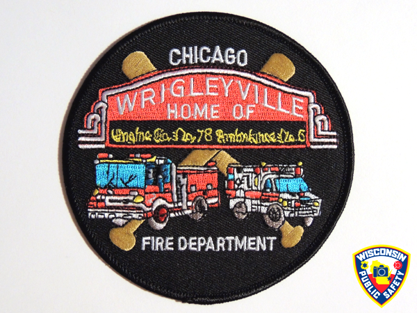 Chicago FD Engine 78 company patch