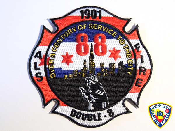 Chicago FD Engine 88 company patch