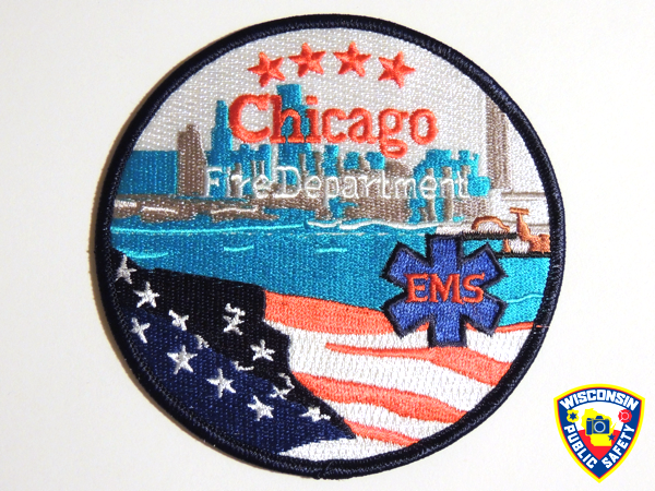 Chicago FD EMS patch