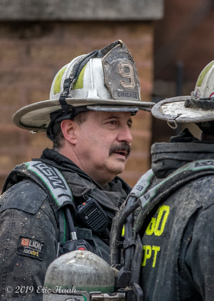 Chicago FD Battalion 9 Chief Frank Cambria