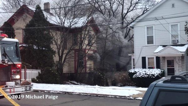 house fire in Elgin IL on Park Street