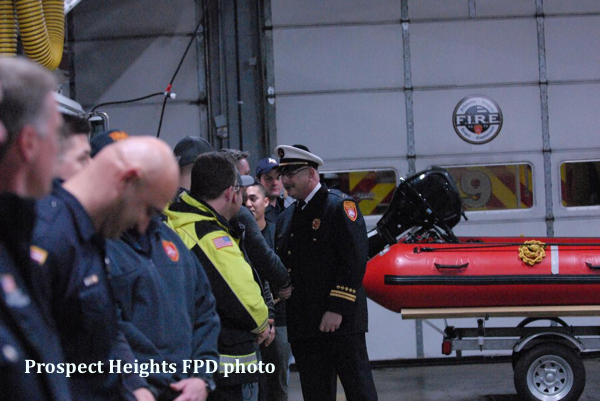 Prospect Heights FPD Battalion Chief retires