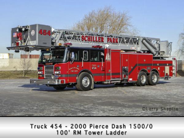 Schiller Park FD Truck 454