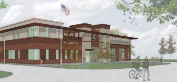 rendering of Huntley FPD headquarters station