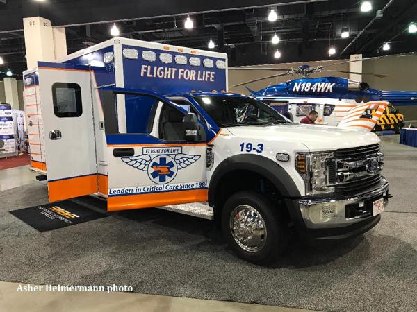Flight For Life ambulance