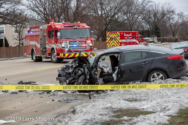 Multi-victim crash with entrapment in Wheeling, 2-5-19