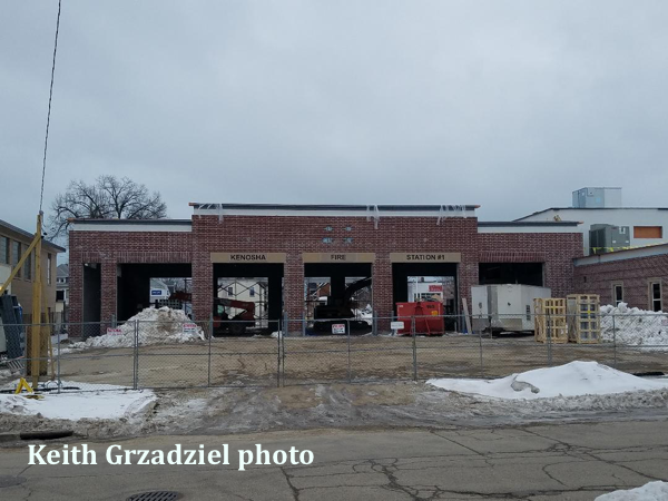 new fire station for the Kenosha FD