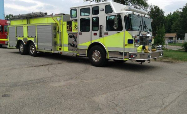 Former Fox Lake FPD tanker was sold to the Custer Township FPD
