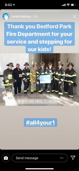 Bedford Park Firefighters raise money for Lurie's Children's Hospital