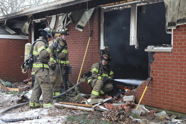 2-Alarm fire in Burlington WI 2-17-19