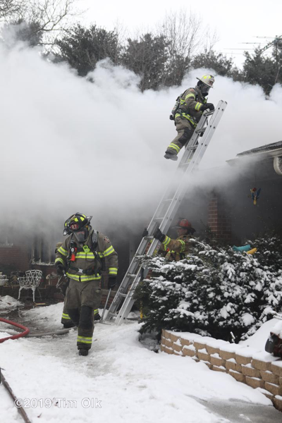2-Alarm fire in Burlington WI 2-17-19