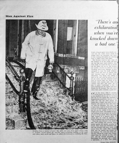 February 23, 1964 Chicago Tribune article on the Chicago Fire Department