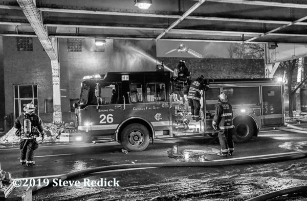 Chicago FD Engine 26 at work
