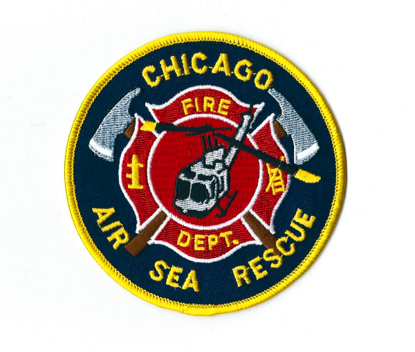 Chicago FD Air Sea Rescue company patch