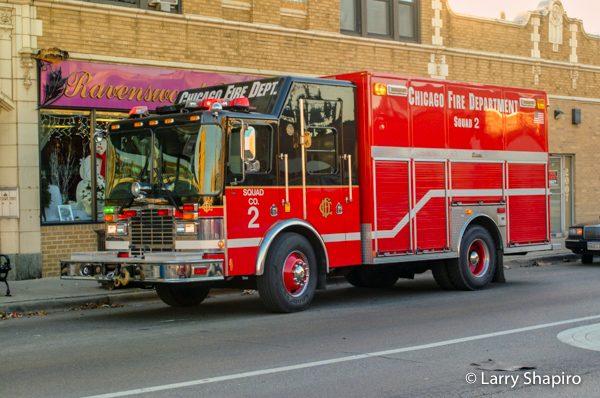 Chicago FD Squad 2 -02000 HME/Central States