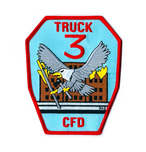 Chicago FD Truck 3 company patch