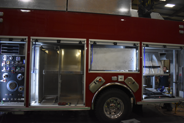 Ferrara Cinder MVP rescue pumper being built H-6466