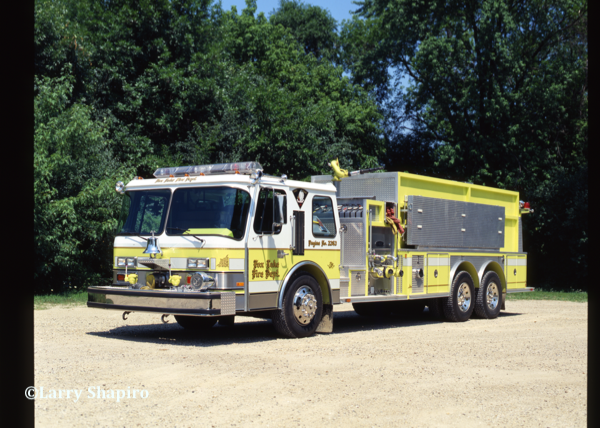 Fox Lake FPD 1988 E-ONE Hurricane pumper tanker
