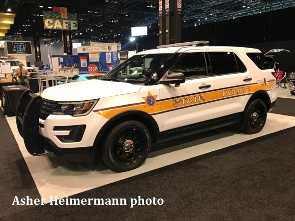 Illinois State Police Ford Explorer