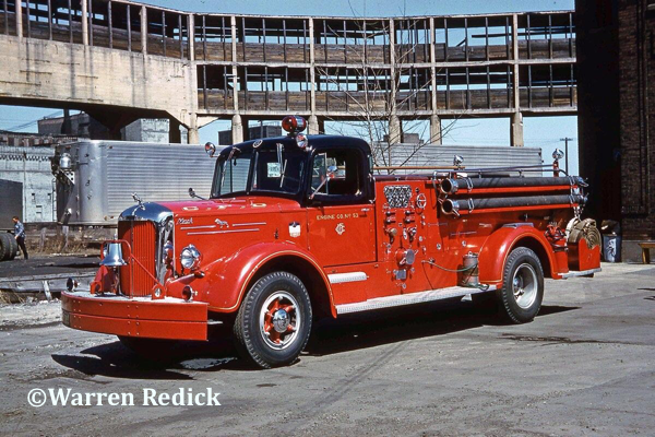 vintage Chicago FD Mack L-Model pumper Engine 53