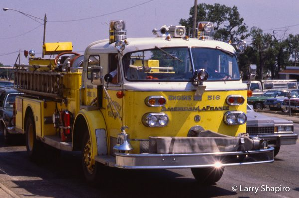 American LaFrance Century Series fire engine