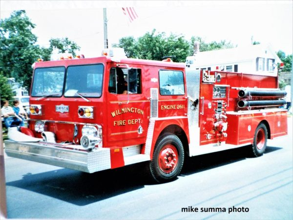 Hendrickson Pierce fire engine