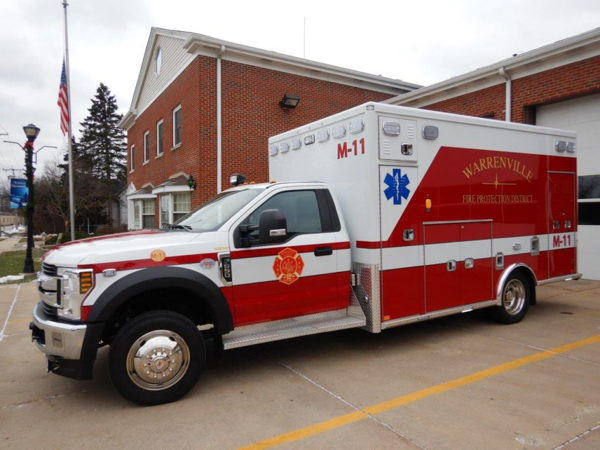 Warrenville FPD Ambulance. M-11