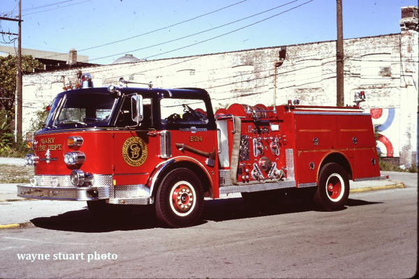 1970 American LaFrance 900 Series pumper Serial #2-1-2321
