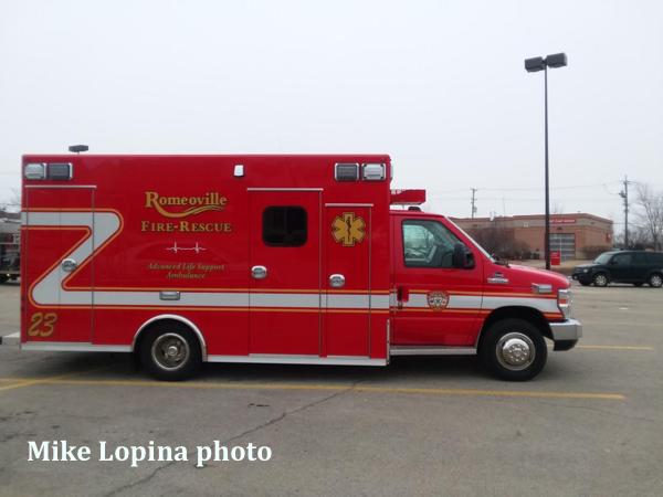 Romeoville FD Ambulance 23