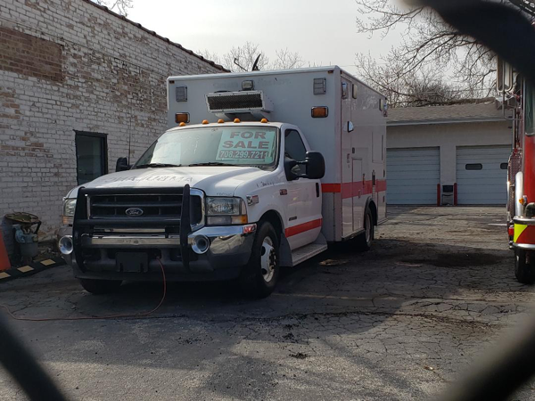 former Chicago FD ambulance for sale
