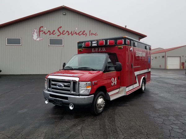 Evergreen park FD Ambulance 34