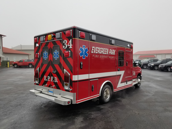 Evergreen park FD Ambulance 34