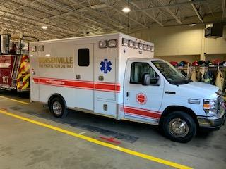 Bensenville Fire District ambulance